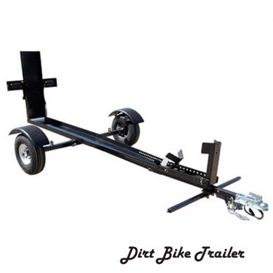 Single dirt bike trailer