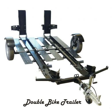 Double bike trailer