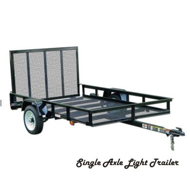 Light utility trailer