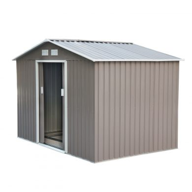 Box metal storage sheds fabrication