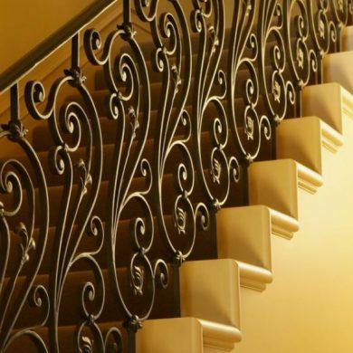 Scroll bar railing