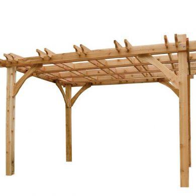 Wooden pergola made in UAE