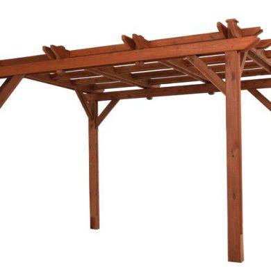 Ash wood pergola