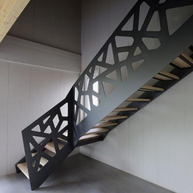 Modern hand railing